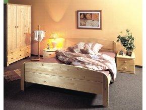 Gazel BERGHEN dřevěná postel 160