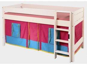 Gazel domeček pod vyvýšenou postel - růžový