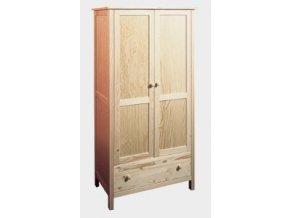 Gazel NATUR šatní skříň - hloubka 45 cm
