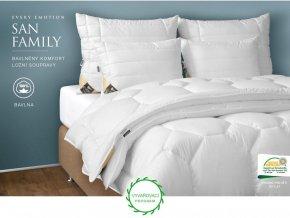Every San Family - ložní souprava - polštář 70 x 90 cm + přikrývka 135 x 200 cm